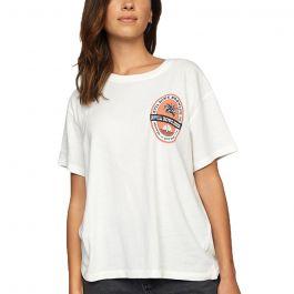 RVCA Γυναικεία κοντομάνικη μπλούζα Camille Rowe Brewing - T-Shirt For Women